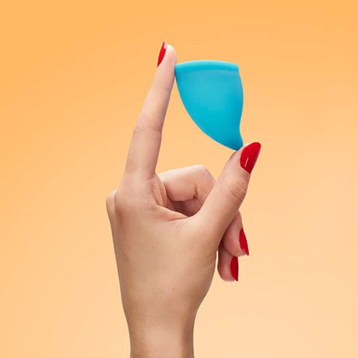 FUN CUP SIZE A - The Smaller Menstrual Cup Handbild